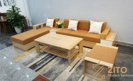 ZG110 sofa gỗ màu nguyên bản