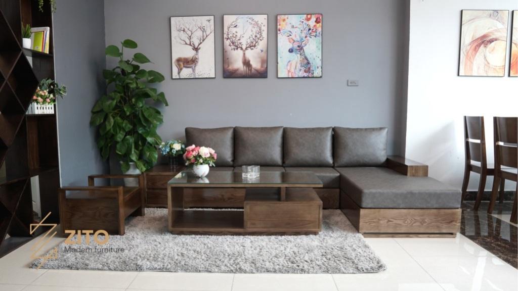 Những Mẫu Sofa Gỗ Mau Oc Cho đẹp Nội Thất Phong Khach