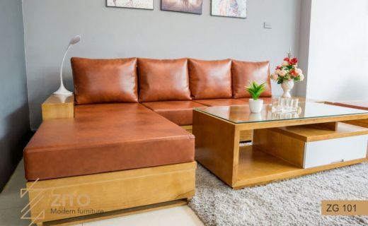 mẫu ghế sofa gỗ
