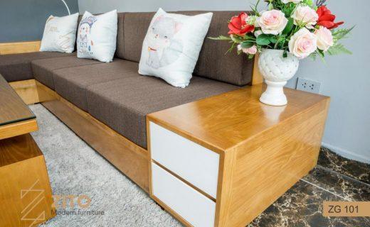 kích thước sofa chữ l