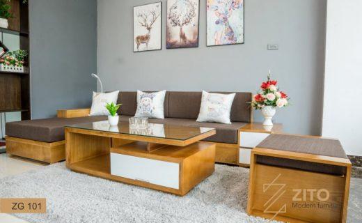 kích thước ghế sofa gỗ