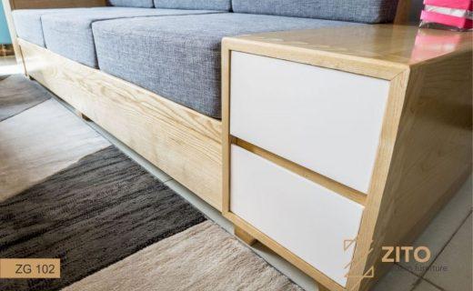 sofa văng gỗ nhập khẩu