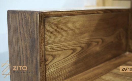 sofa văng gỗ thanh lý