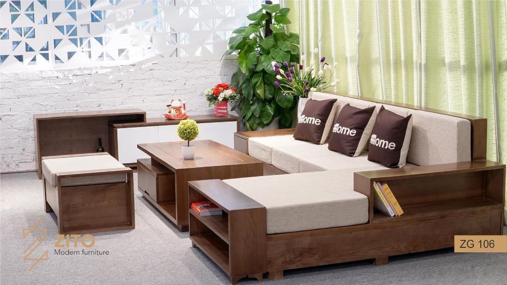 bàn ghế gỗ sofa sofa phòng khách tuổi Bính Dần