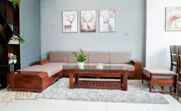 Bộ sofa gỗ hương đá ZG 118