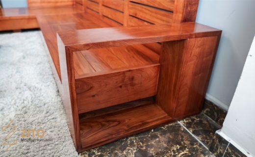 Kiểu dáng sofa gỗ hương giản đơn sang trọng