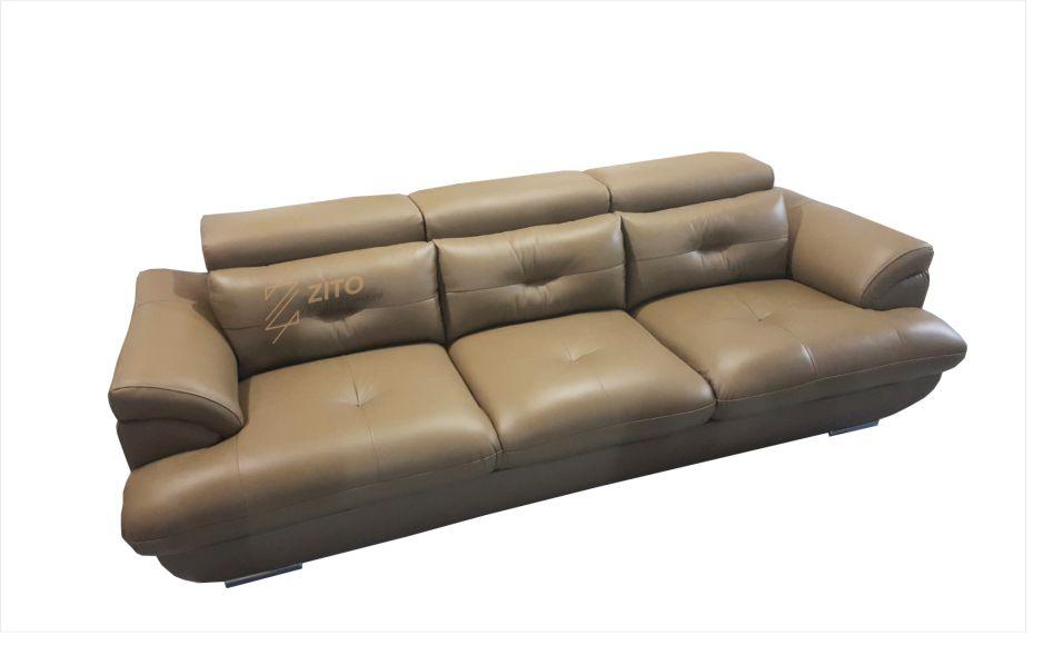 mẫu ghế sofa da phòng khách chung cư