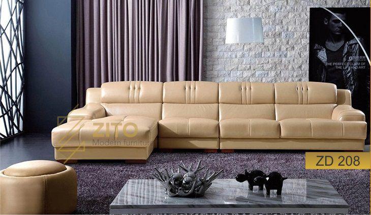 sofa da giá rẻ tại hà nội