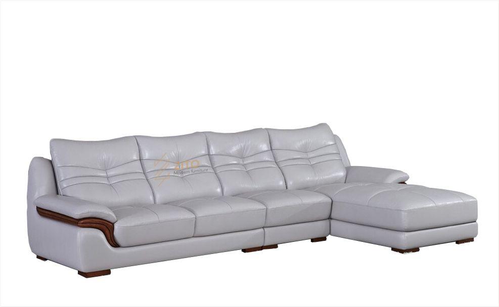 mẫu sofa da cho phòng khách nhỏ