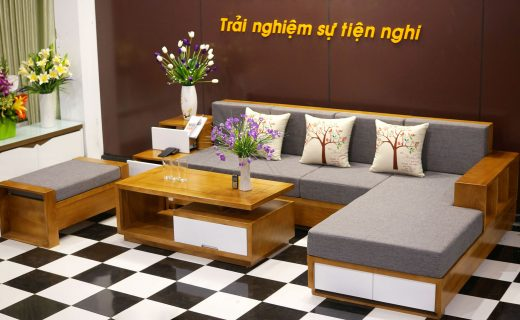 Sofa Gỗ ZG 105