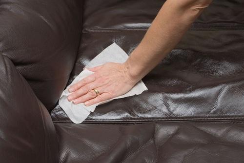 cách làm sạch ghế sofa da bảo dưỡng sofa