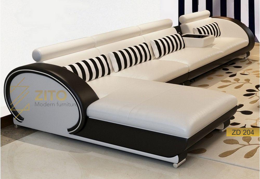 mẫu ghế sofa da đẹp