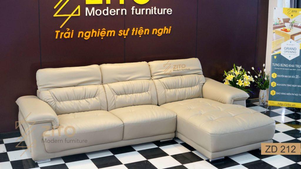 Bộ sofa da nhập khẩu Hàn Quốc