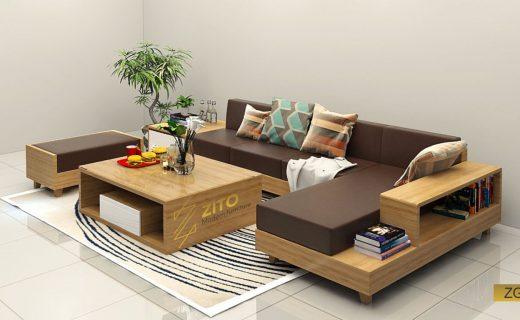 Sử dụng Sofa gỗ cho mùa hè mát mẻ