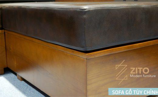 sofa gỗ nệm ZITO ZG 101