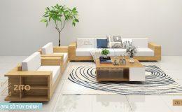 bàn ghế Sofa gỗ tự nhiên cao cấp ZG121 tại hà nội