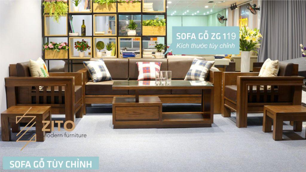 giá sofa gỗ sồi nga