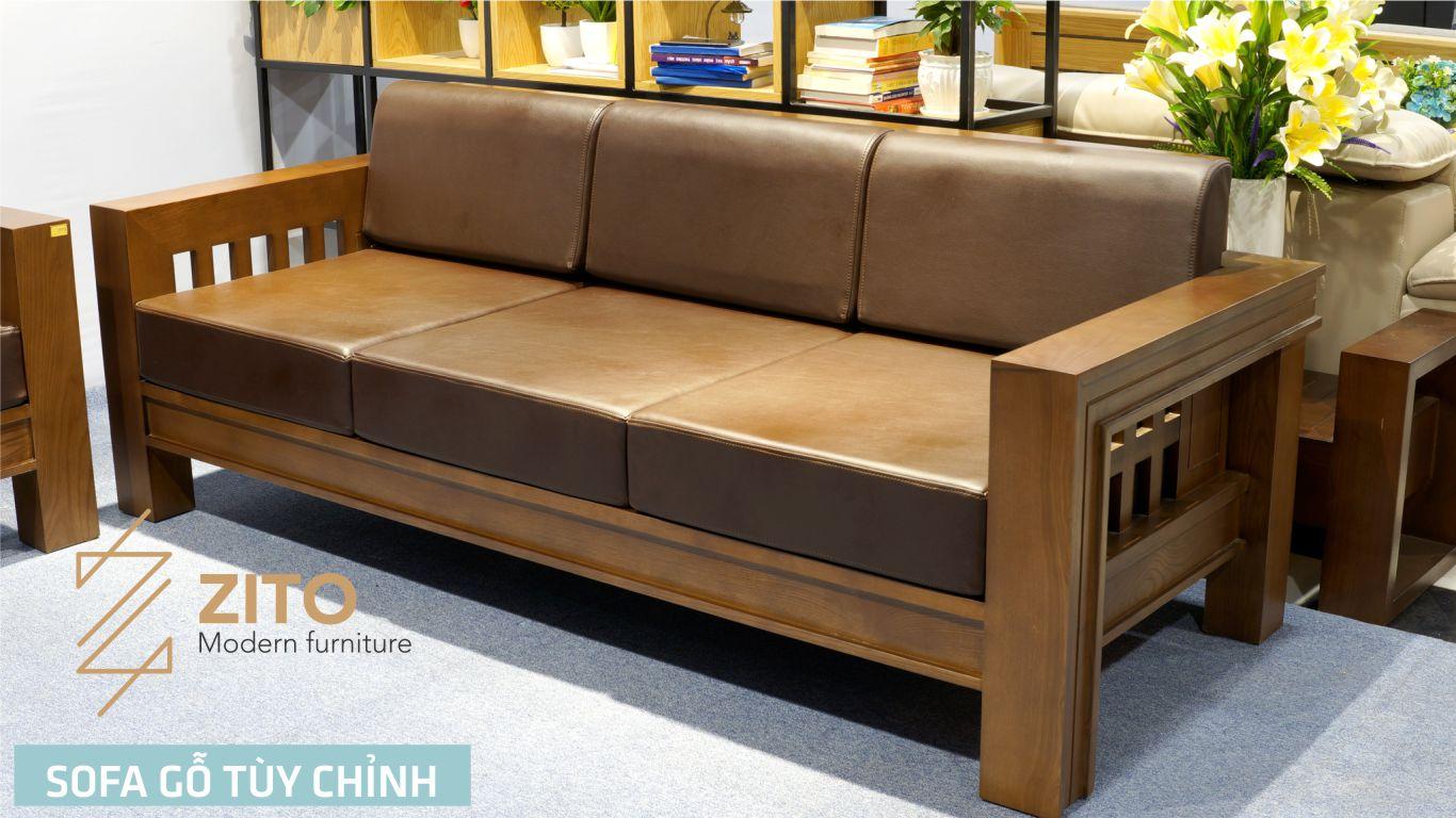 Màu sofa gỗ sồi nga ZITO ZG 119 trầm và ấm áp