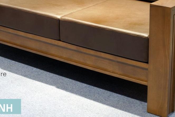 Sofa bed gỗ phòng khách ZG104 tại hà nội