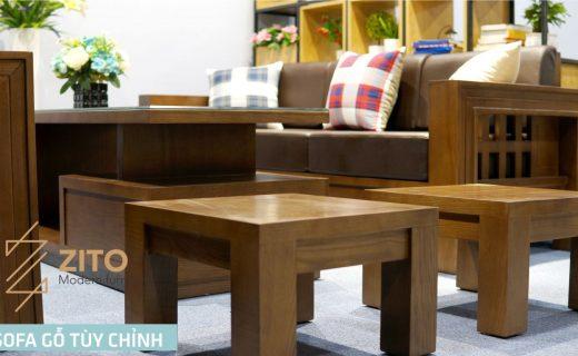 Sofa gỗ ZG119