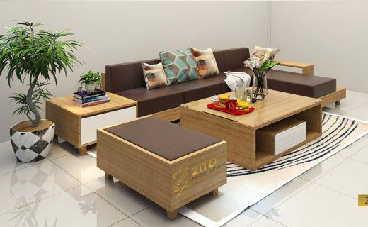 Sofa gỗ ZG 101
