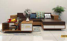 không gian của bạn sẽ trở nên sang trọng hơn nhờ bộ Sofa phòng khách ZG104
