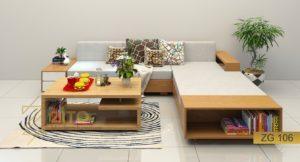 Xu hướng lựa chọn sofa gỗ hè 2018