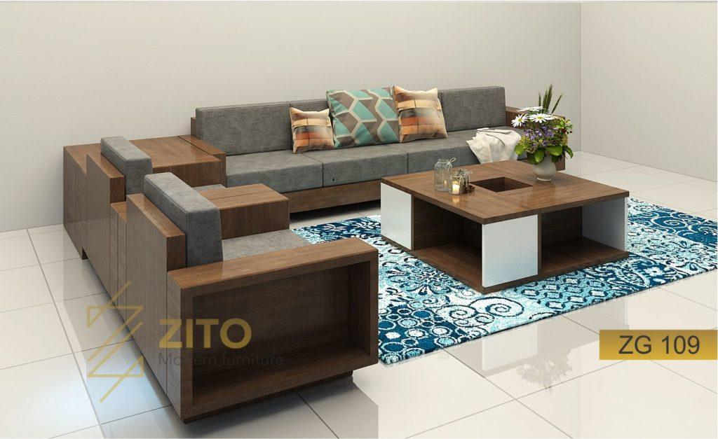 Mẫu bàn ghế sofa văng phòng khách năm 2018