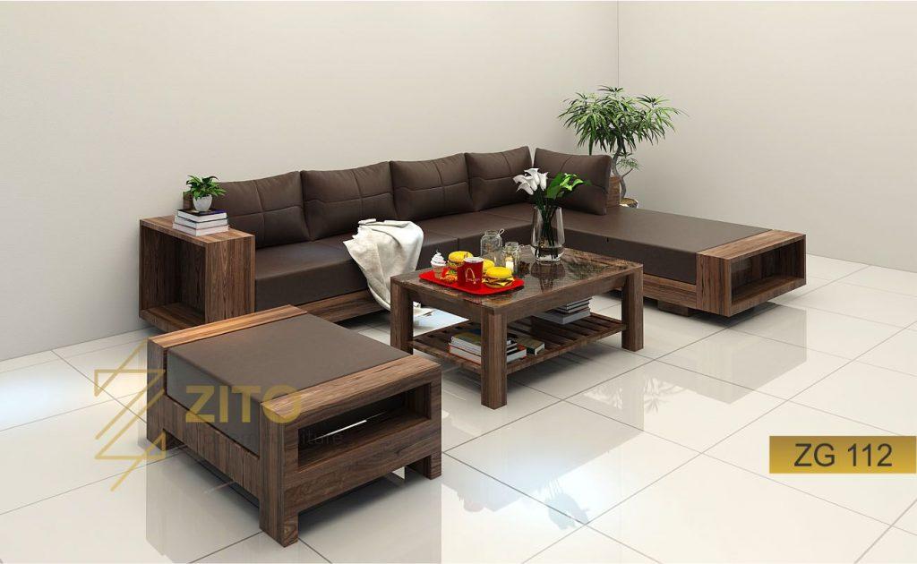 sofa gỗ óc chó, ghế sofa gỗ óc chó, bàn sofa gỗ óc chó, sofa phòng khách gỗ óc chó