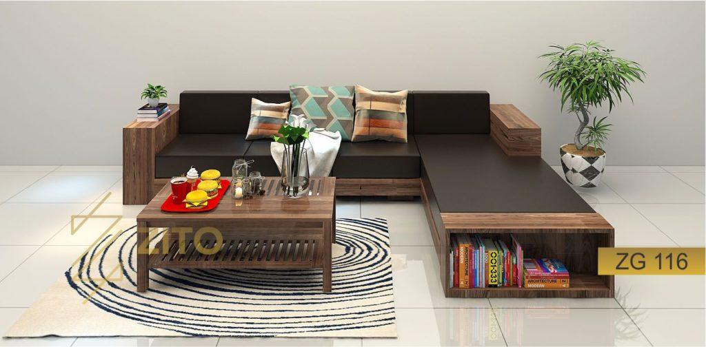 bàn ghế Sofa giường gỗ cao cấp