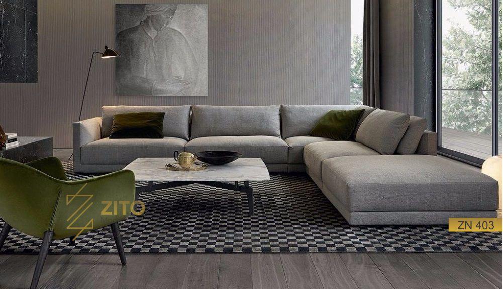 Sofa nỉ hiện đại tại hà nội