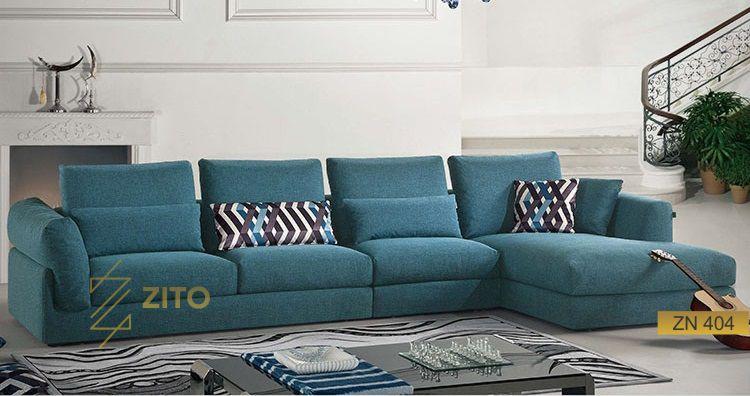 Bộ sofa bọc nỉ cao cấp tại nội thất zito