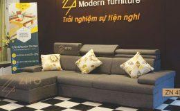 Thiết kế Sofa Nỉ cho phòng khách