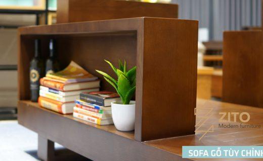 Sofa gỗ ZG 118