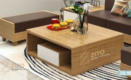 bàn trà gỗ thông minh