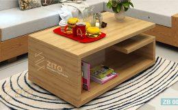 mẫu bàn trà gỗ tự nhiên 2018 tại ZITO