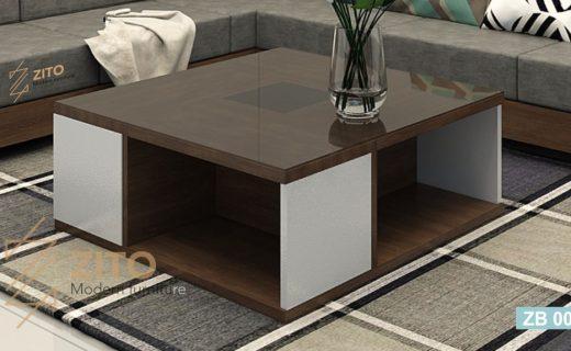 bàn trà gỗ vuông zb007 Tại ZITO