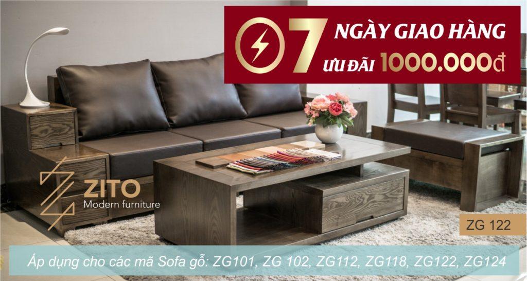 Khuyến mại nội thất ZITO tháng 5