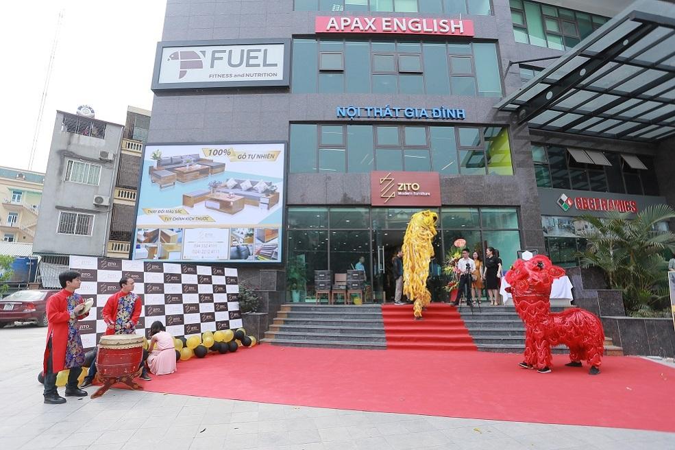 Ngoại Thất Showroom Nội Thất ZITO Tại Hà Nội