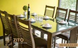 Thiết kế bộ bàn ăn nhỏ gọn