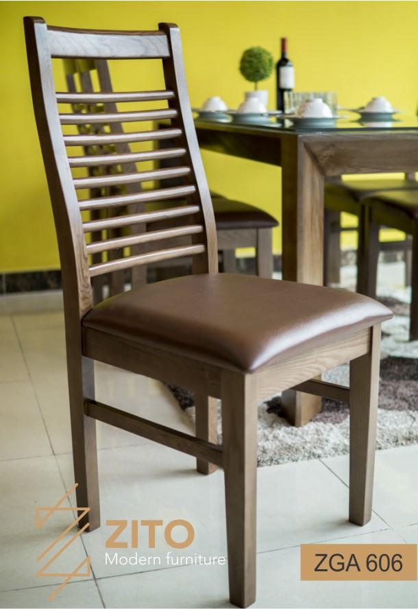 Kiếu dáng chiếc ghế dành cho phòng ăn ZBA 604 & ZGA 606