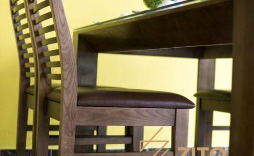 Kiểu dáng bộ bàn ghế ăn nhỏ gọn gỗ Sồi đẹp và hiện đại