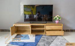 Mẫu Kệ để tivi bằng gỗ hiện đại đẹp cho phòng khách