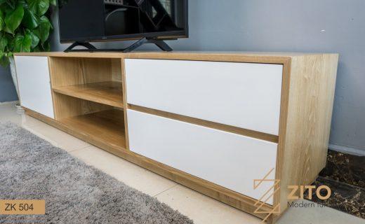 Kệ gỗ để tivi đẹp phù hợp với nhiều ngôi nhà