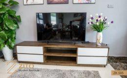 Mẫu kệ tivi bằng gỗ ZITO ZK 505 hiện đại cho phòng khách