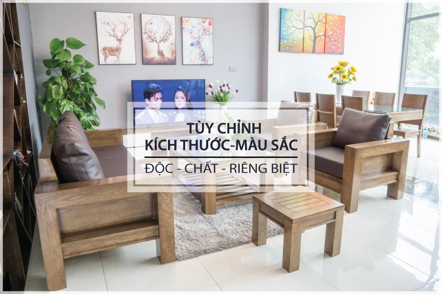 ZITO Bàn ghế sofa gỗ hiện đại được tùy chỉnh kích thước màu sắc kiểu dáng chất liệu gỗ