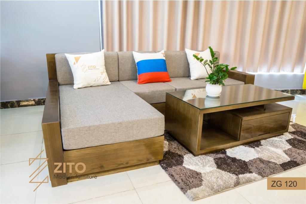 Lựa chọn sofa góc chữ L cho phòng khách nhỏ