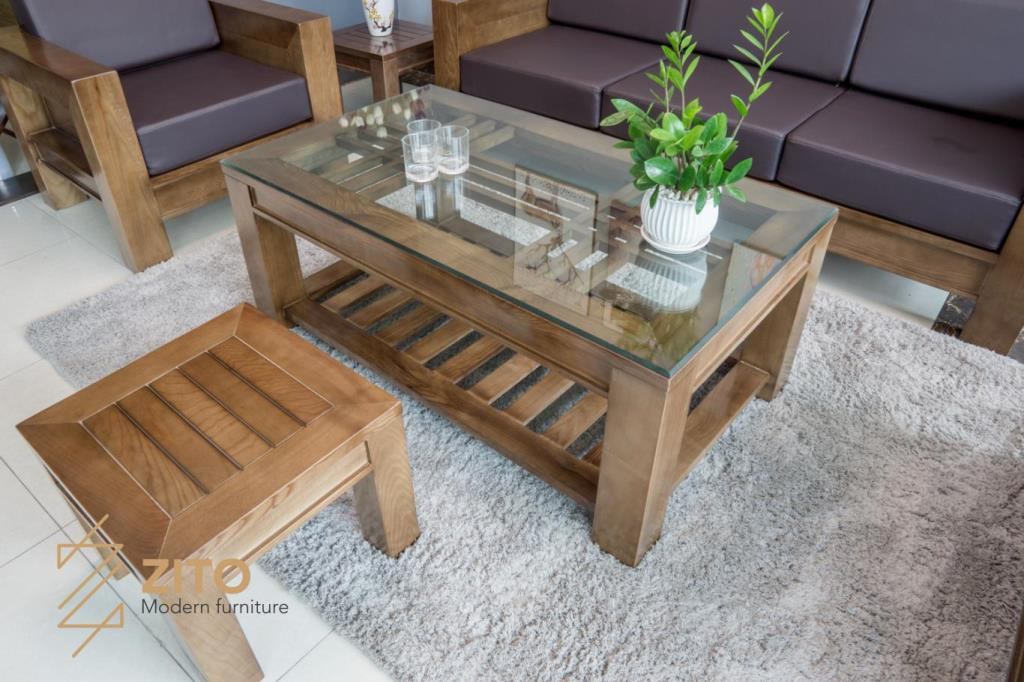 Kiểu dáng mẫu sofa gỗ chữ U đẹp, gọn và giản đơn