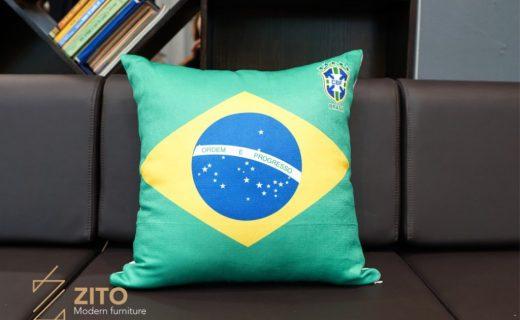 Gối ôm worldcup đội tuyển Brazil