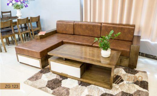 Kích thước ghế sofa gỗ nhỏ